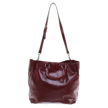 Prada Handbag in Bordeaux