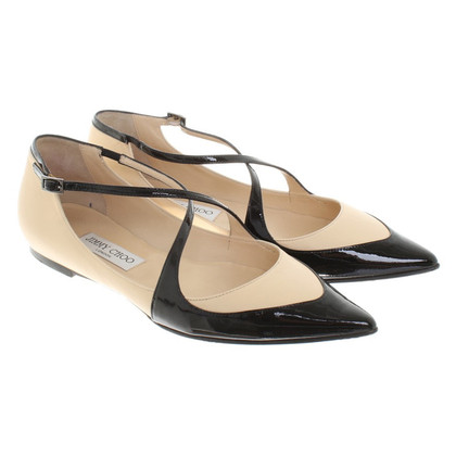 Jimmy Choo Ballerine in Beige