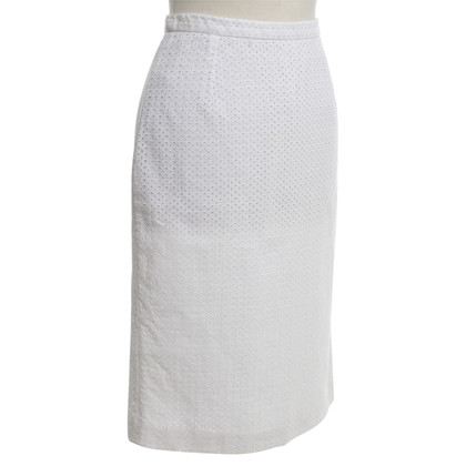 Dolce & Gabbana Pencil skirt in white