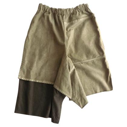Comme des Garçons Pantalon en bi-couleur
