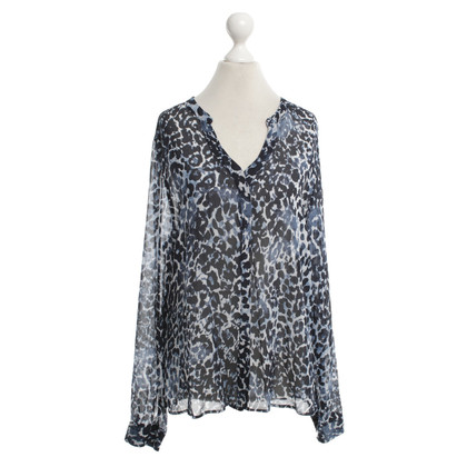 Rich & Royal Bluse mit Animal-Print