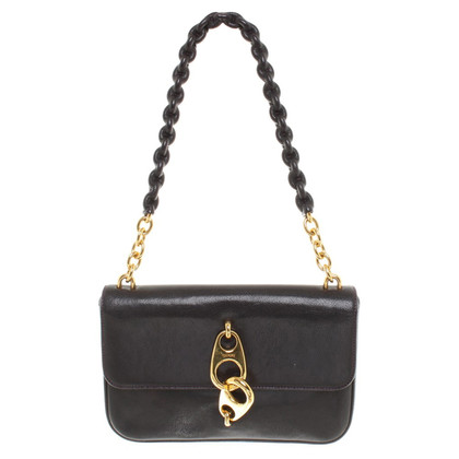 Tom Ford Lederhandtasche in Dunkellila