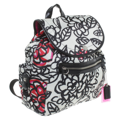 Coach Backpack with pattern print