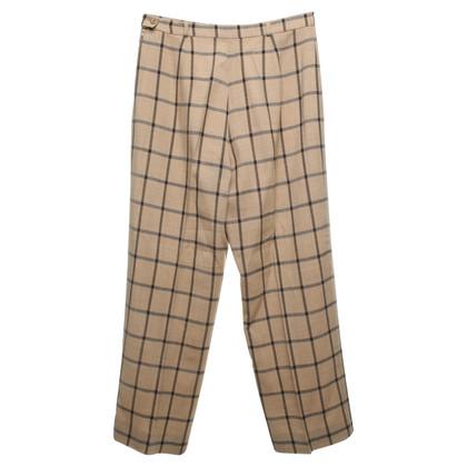 Marina Rinaldi trousers with checked pattern