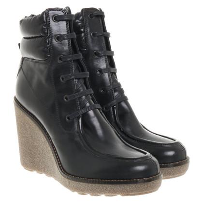 Moncler Stiefel in Schwarz