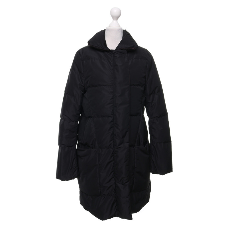Jil Sander GiaccaCappotto in Nero Second hand Jil Sander