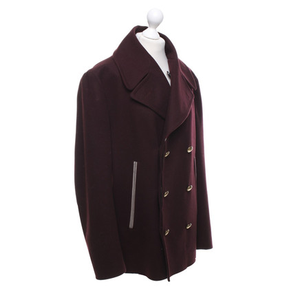 Marc Jacobs Caban-Jacke in Bordeaux