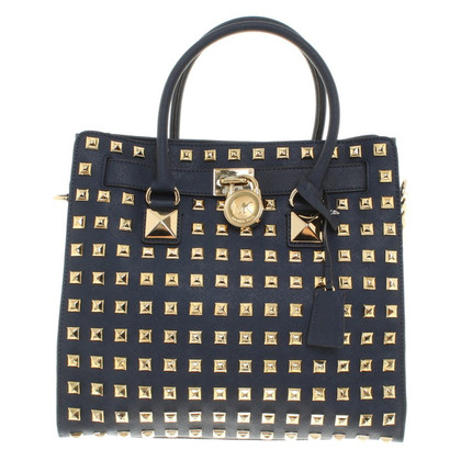 Michael Kors Handtas in Dark Blue