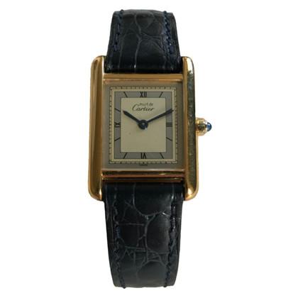 """Cartier """"Tank"""" klok"""