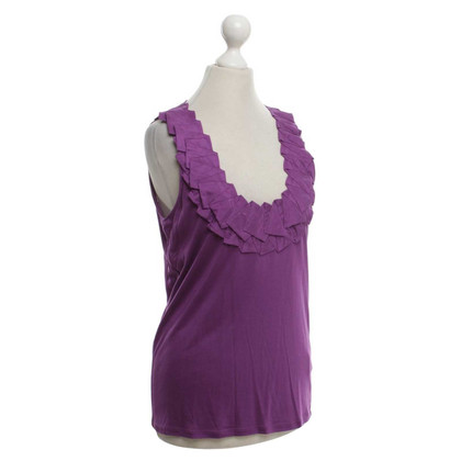 René Lezard Top in Violet