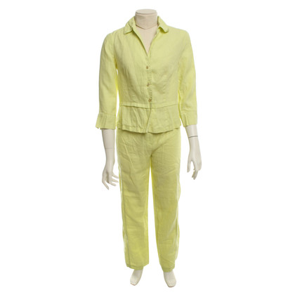 Riani Zitronenfarbener Anzug aus Leinen