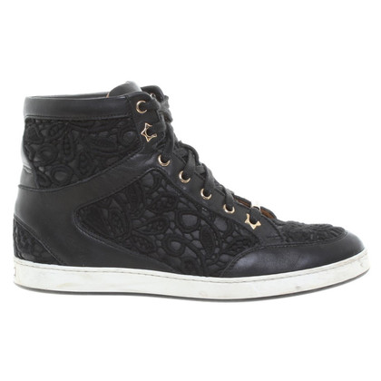 Jimmy Choo Sneakers with crochet lace