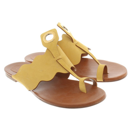 Chloé Sandals in yellow