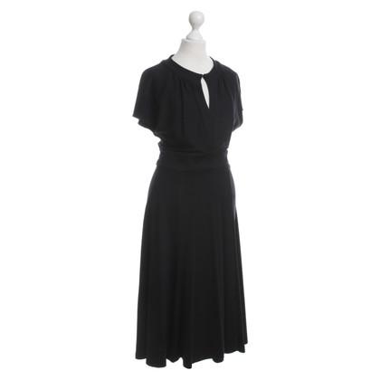 Diane von Furstenberg jurk, zwart, US10