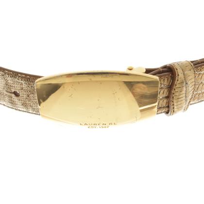 Ralph Lauren Gold-colored belt