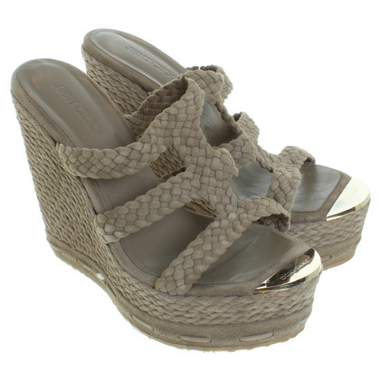 Jimmy Choo Wedges in Grau