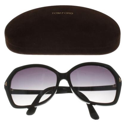 Tom Ford Sonnenbrille in Schwarz