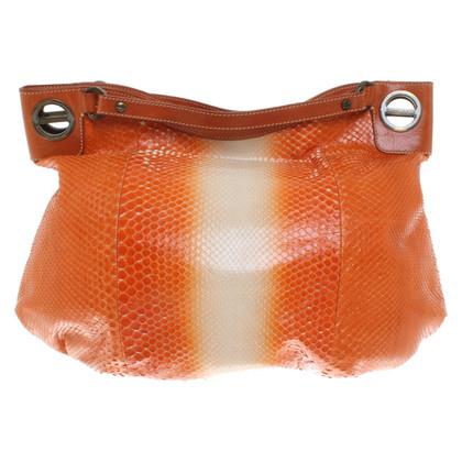 Borbonese Handbag made of reptile leather