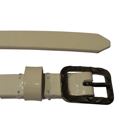 Burberry Patent leather belt