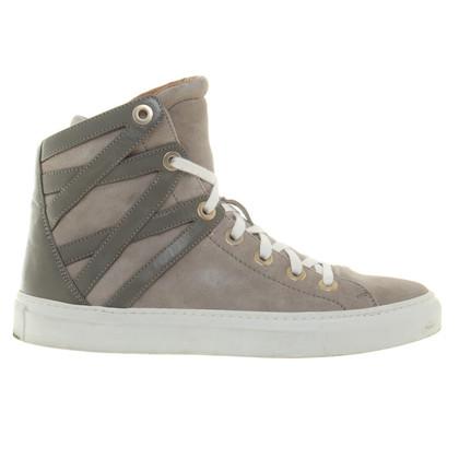 Aquazzura High-top sneakers in grey