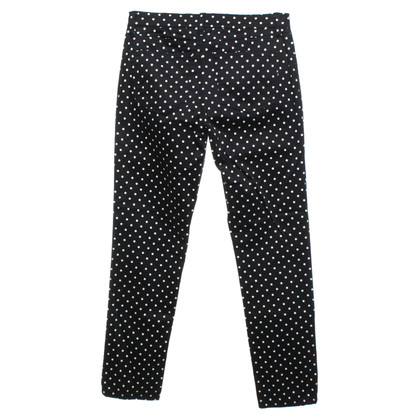 Ralph Lauren trousers with dot pattern