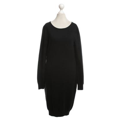 Moschino Fijn gebreide jurk in zwart