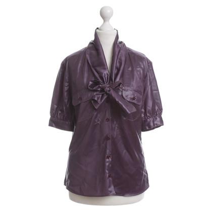 McQ Alexander McQueen Chemisiers Top violet