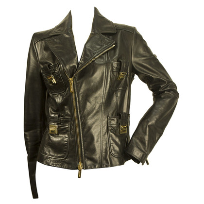 Dsquared2 Black biker jacket