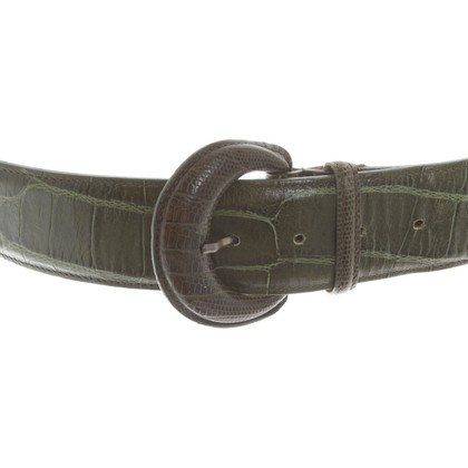 Etro Belt in green