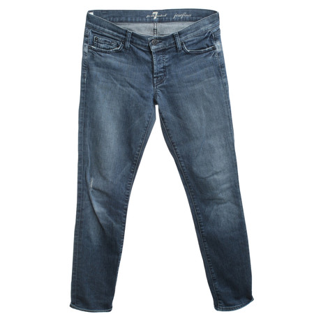 "7 For All Mankind Jeans ""Josefina"" in Blau Blau"