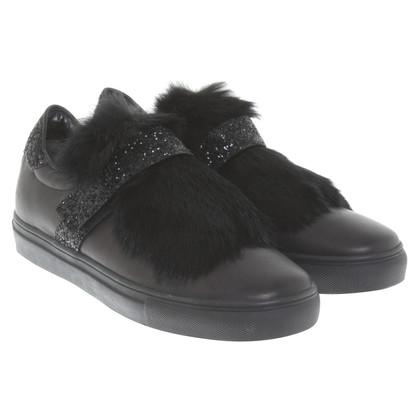 Kennel & Schmenger Fur lined sneakers