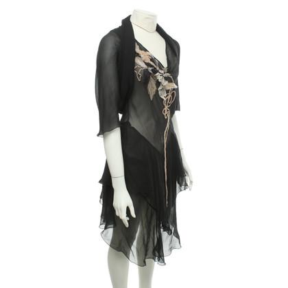 Max Mara Silk dress with bolero