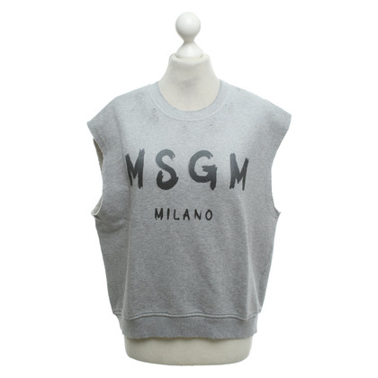 MSGM Sleeveless sweater