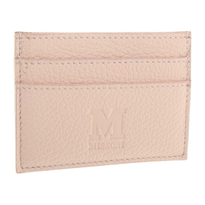 Missoni Card Holder in Nude