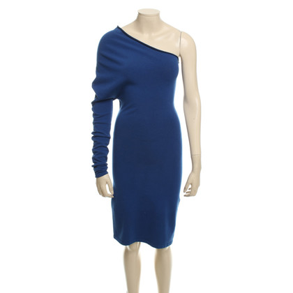 Stefanel One-shoulder dress in blue