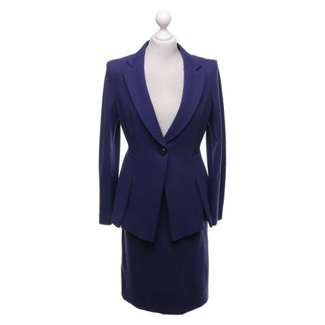Giorgio Armani Kostüm in Violett Violett