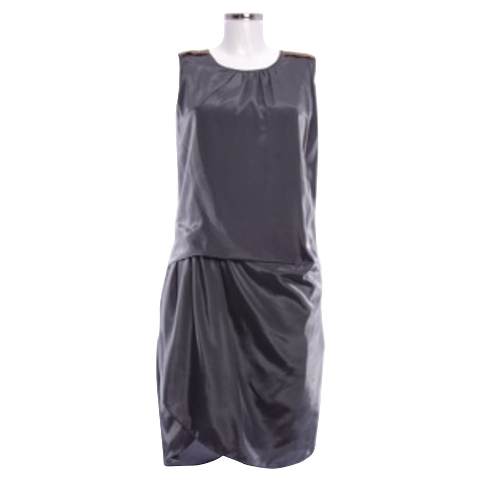 day birger mikkelsen kleid mit perlen deko second hand. Black Bedroom Furniture Sets. Home Design Ideas