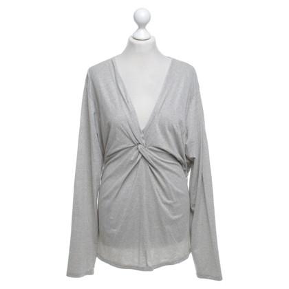 Marina Rinaldi Top in grigio chiaro