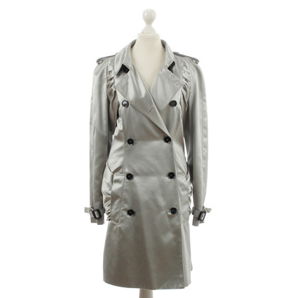 Burberry Prorsum Silver trench coat
