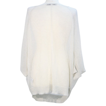 All Saints Semitransparentes top in cream