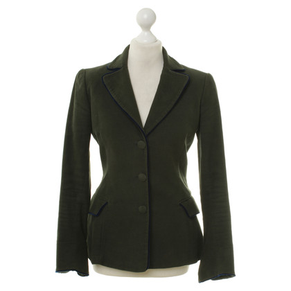 Blumarine Blazer in dark green