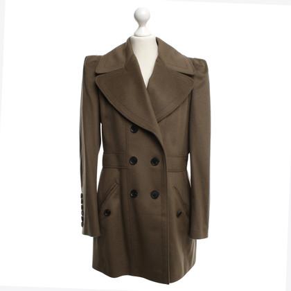Burberry cappotto in lana