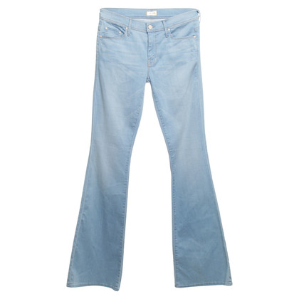 Mother High Waist Jeans in Blau