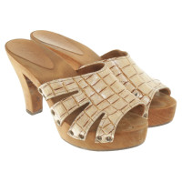 Marc Cain Sandals in Beige