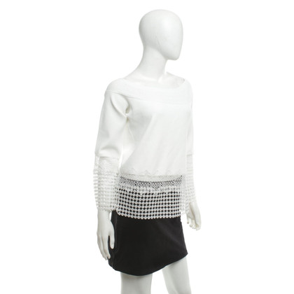 Elie Tahari top with lace