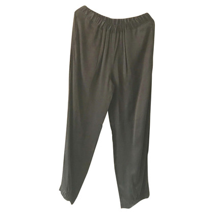 MM6 by Maison Margiela Black trousers with elastic