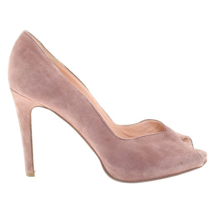 Gianvito Rossi Wildleder-Pumps in Violett