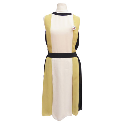 Lanvin Kleid mit Colorblocking