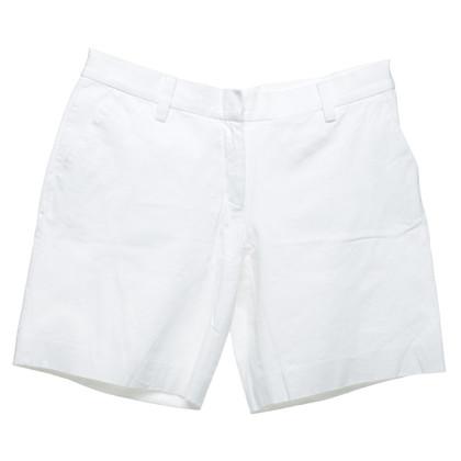 Prada Shorts in Bianco