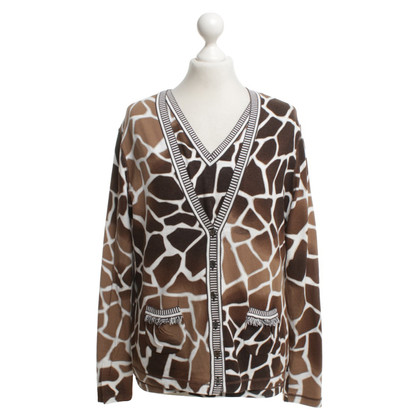 Marc Cain Twin set with Animal-Print